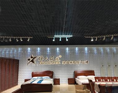 南康会展中心华人风彩背打光字